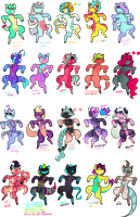 100 Point Cat Adopts (0/20) CLOSED by The-Purple-Room