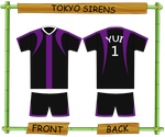 Beach Soccer Project: Team 7: Tokyo Sirens by featherblade2008