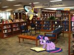 Library Adventures by SparkBrony