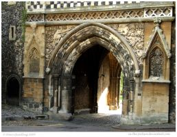 Ye Olde Gatehouse by In-the-picture