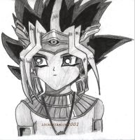 Young Atem by lucrezianoin2001