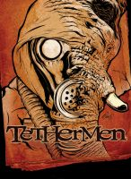 Tethermen Comic Cover by gravitydsn