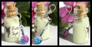 Fairy Snot Blue n Pink Beads by GeneveveX