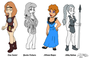 B-Movie Babes - Volume 2 by jbwarner86