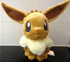 Eevee HQ plush by Banpresto by Gallade007