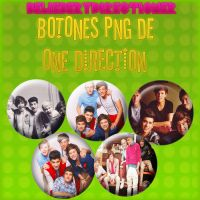 Botones PNG de One Direction by JustBelieberYD