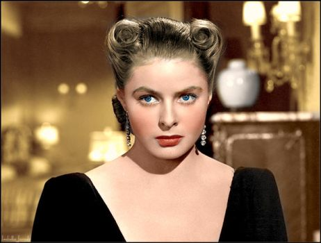 Party Ingrid Bergman by Childoftheflower