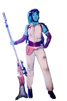 Twi'lek Bounty Hunter Layout for Visual Dictonary by hapajedi
