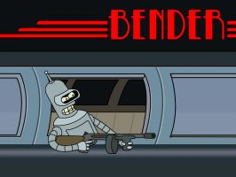 Bender Wallpaper by sargeras