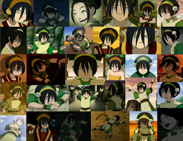 Toph collage by JackieStarSister