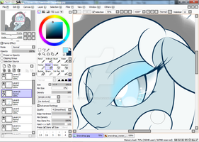 Snowdrop(WIP) by BluDraconoid
