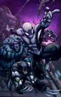 Avenging Spiderman - Colors by Kyle-Fast