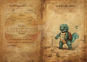 NO.007 Squirtle by Mummy-fei