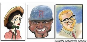 Caricature Samples by TRALLT