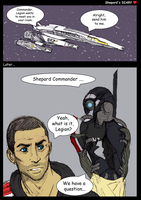Shepard's DIARY: Legion and Shepard, Part 1 by Melenis