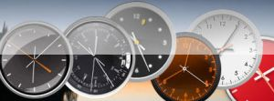 Clocks 4  Vista Sidebar Gadget by Cooo