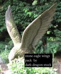 stone eagle wings stock pack by dark-dragon-stock
