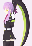 Hiiragi Shinoa by bimbombash