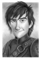 HTTYD2 Hiccup in Charcoal by VelleVette