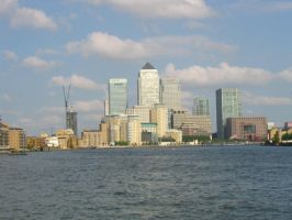 Canary Wharf by loungefrog