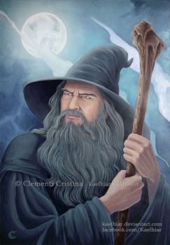 Gandalf by Kaelhiar