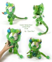 Spring Green Leosoar by Lithe-Fider