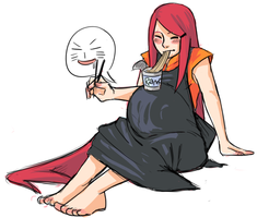 Kushina . Mmramen by starchiishio