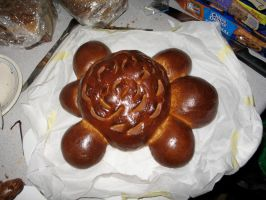 Turtle shaped bread 2 by Sumrlove