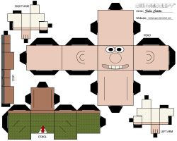 Wallace cubeecraft by melopruppo