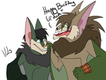 BATSY BURFDAY by Luna1502