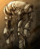 Mecha Concept Sketch 6 by ZeroCartin