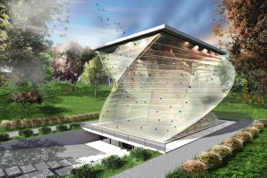 INDOOR CLIMBING center by Mousset