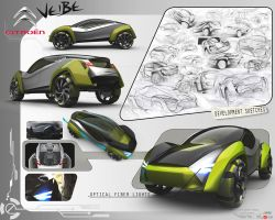citroen veibe 3d by GatsuDesign