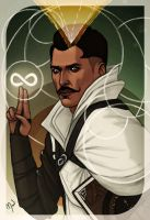 Dorian Tarot Card by Merwild