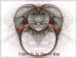 Entrance To The Darkened Heart by charcoaledsoul