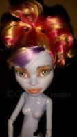 Abbey Bomidable Monster High OOAK Repaint by ChrysalisCreations