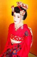 Maiko portrait by tajfu