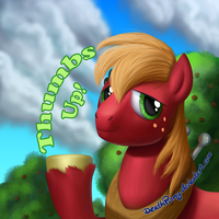 Thumbs Up by DeathPwny