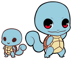 #007    Squirtle by LostAdopt