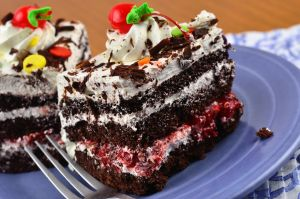 Black Forest Cake Slices 2 by Thrakki