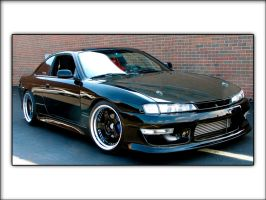 240sx S14 - Black 2 by ImportKING