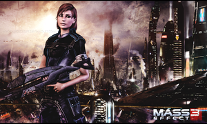 Commander Shepard by AliceCroft