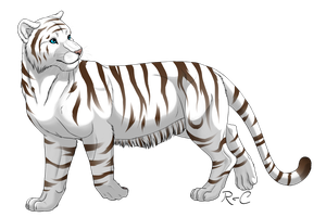 White Tiger by DarkRika