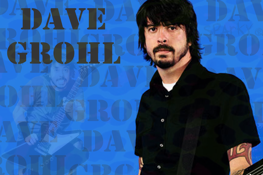 Dave Grohl by sparky-mofin