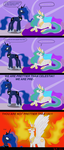 Celestia and Luna: who is prettier? by Lucandreus