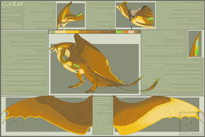 Garm 1.0 reference sheet by Simander
