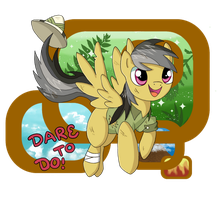 Daring Do Awaaaaay by chikadee34