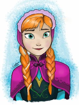 Princess Anna of Arendelle by Silent-Valiance