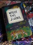 Wreck This Journal - Front Cover by conniekidd