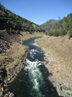 Stanislaus River at New Melones July 2013 by chronitonic
